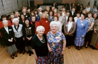 This was a reunion held in 1997 for all of the past and present members of the Girls' Choir.