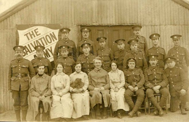 Salvation Army at Clipstone Camp | Private collection