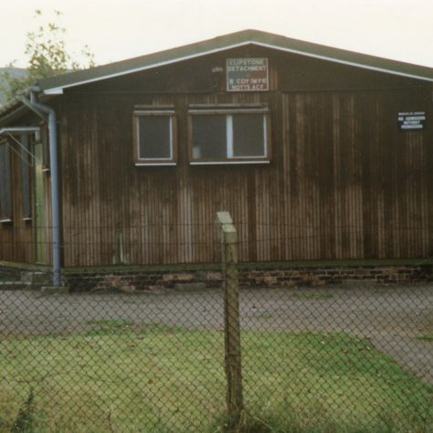 Army Cadets Hut, (Clipstone Detachment B Coy/WRF Notts. ACF), Mansfield Road | Malcolm Marples