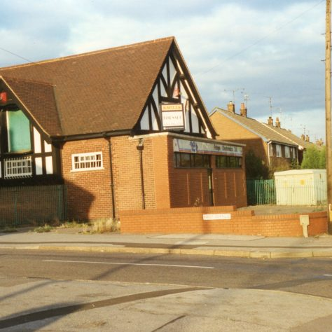 Electronic Company 'For Sale', Mansfield Road. (ExCo-operative Building | Malcolm Marples