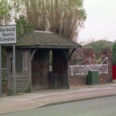 Garabaldi (School) Sport Complex sign & Bus Shelter. | Malcolm Marples