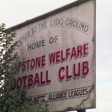Sign seen when entering Clipstone from Mansfield. | Malcolm Marples