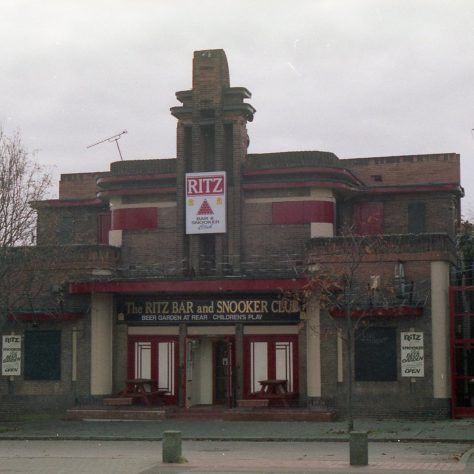 Ritz Bar & Snooker Club, Mansfield Road. (Ex-Cinema) | Malcolm Marples