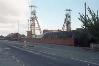 Colliery headstocks and buildings. | Malcolm Marples