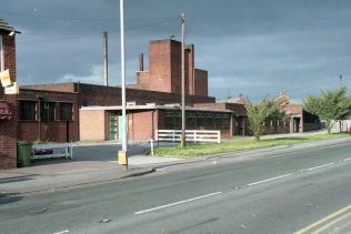 Colliery buildings on Mansfield Road, across from the main site. | Malcolm Marples