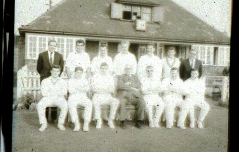 Clipstone Colliery Cricket Team 1966