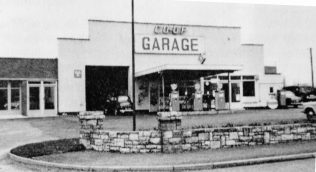 Co-op Garage taken from an old brochure | Private collection