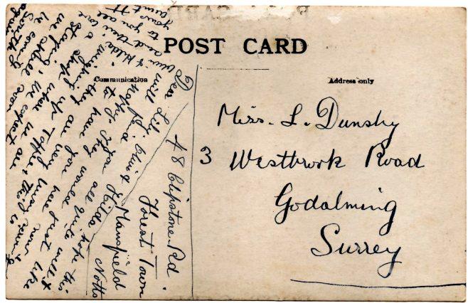 Mystery Post Card