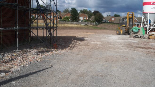 This is the site of Daleside Elderly Peoples Home as it is today 16/9/10 | Arthur Wright