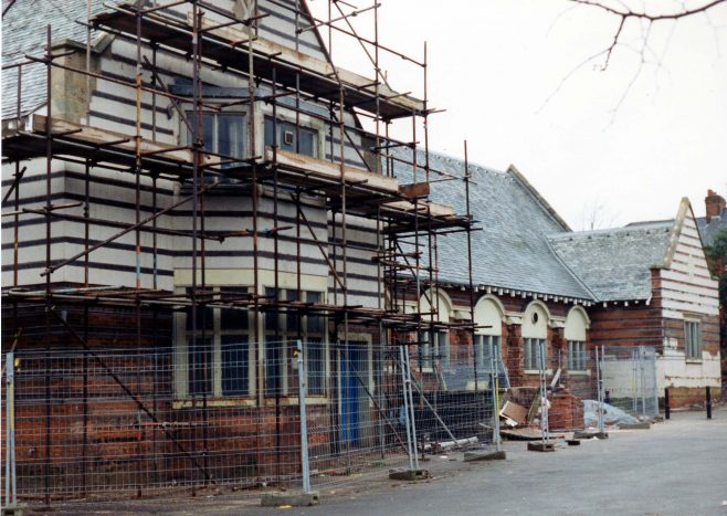 Kingsway Hall Renovations 1994 | P Marples