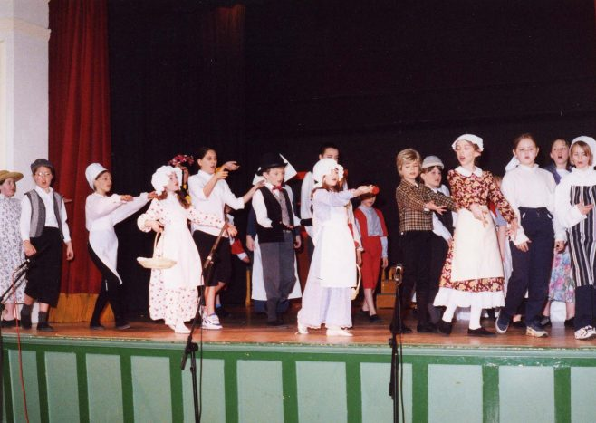 Production of Oliver by Forest Town Primary School April 2000 | P Marples