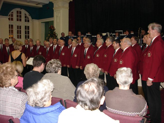 Concert with Mansfield Male Voice Choir December 2005 | P Marples