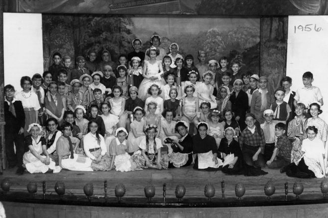 Forest Town School play at the Drill Hall 1956 | P Marples Collection