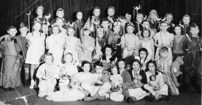 Forest Town School Play at the Drill Hall - date unknown | P Marples Collection