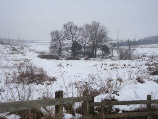 Site of Rushpool Farm January 2010 | P Marples