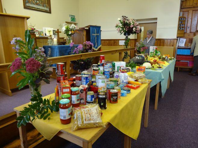 Harvestd food in tins and jars   P Marples