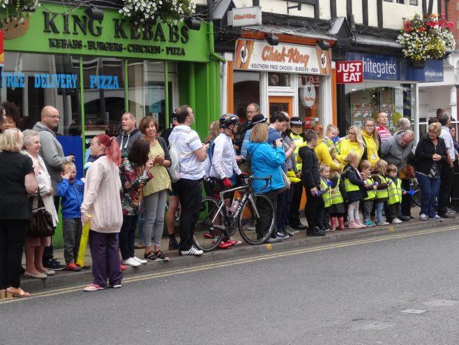 Spectators on Leeming Street | M & P Marples