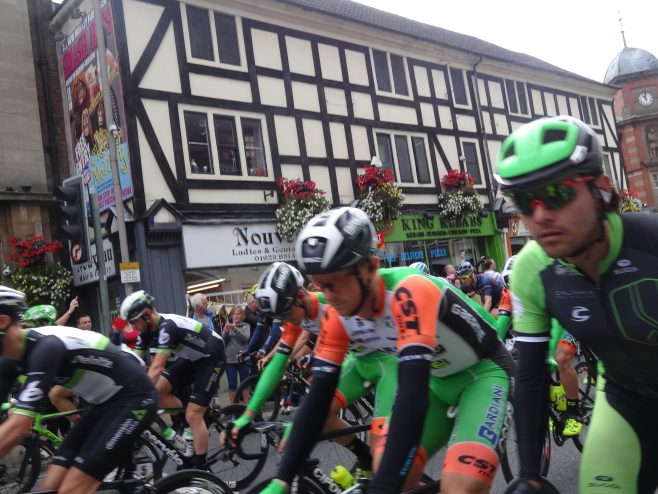 The Mansfield start of the Tour of Britain has begun | M & P Marples