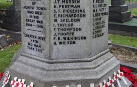Forest Town War Memorial