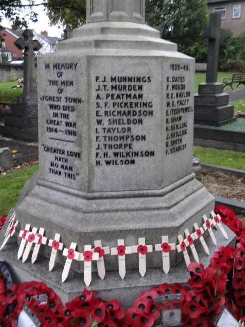 Forest Town War Memorial | P Marples
