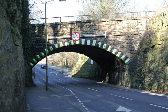 Sheepbridge Lane Steps.