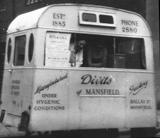 Divits Ice Cream van, recalled by many people | D Haslam