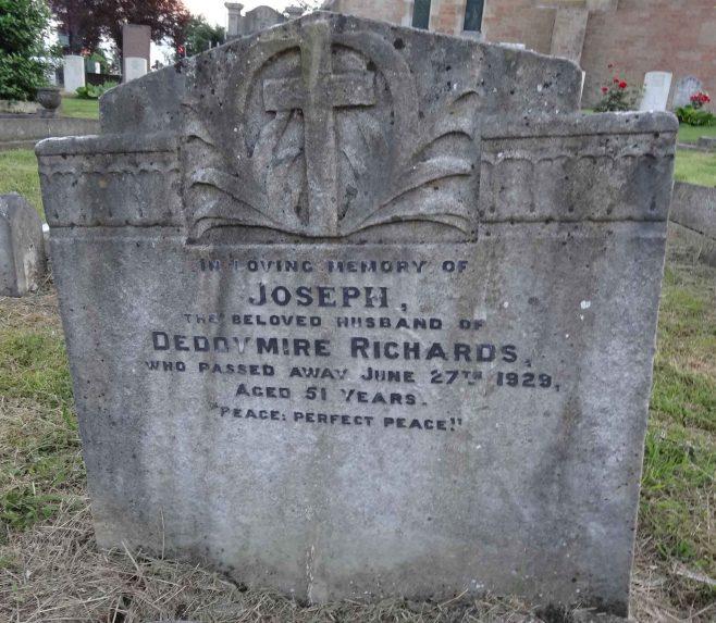 Unusual Name on Gravestone