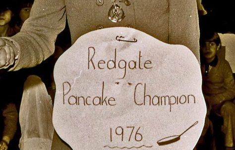 REDGATE SCHOOL PANCAKE DAY