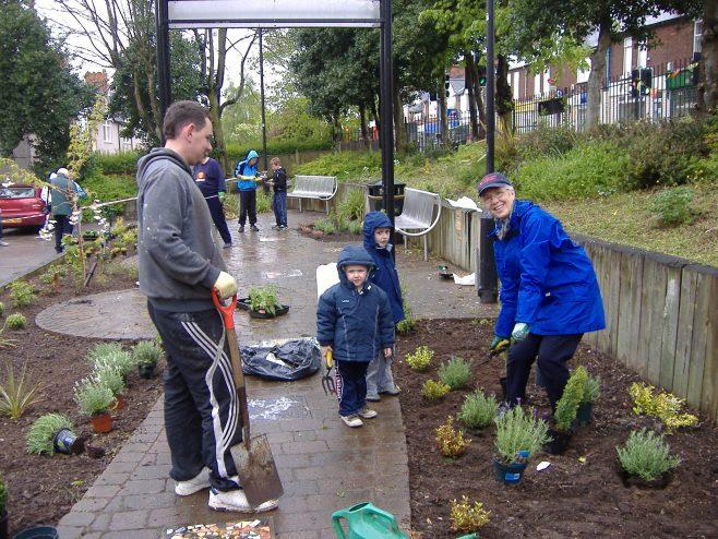 Planting in progress | Val Moss