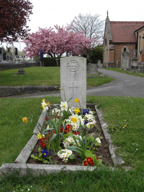 WW1 War Grave of Pte.Harry Wilson from Forest Town | Pauline Marples