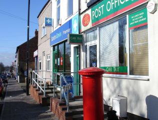 Forest Town Post Office 1907 | P Marples