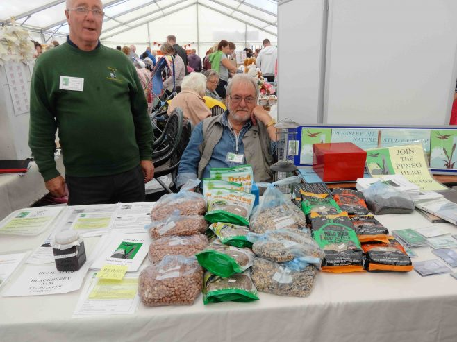 Looking after nature with bird seed etc. | P Marples