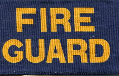 WW2 Duties of a Fire Guard