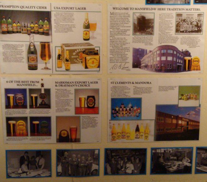 Mansfield Drinks Industry | P Marples