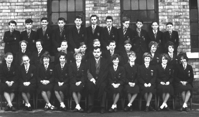 Mr Hardy's form (possibly 3rd or 4th form, 1962-64ish)
