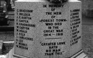 Cenotaph, St Alban's Forest Town | P Marples