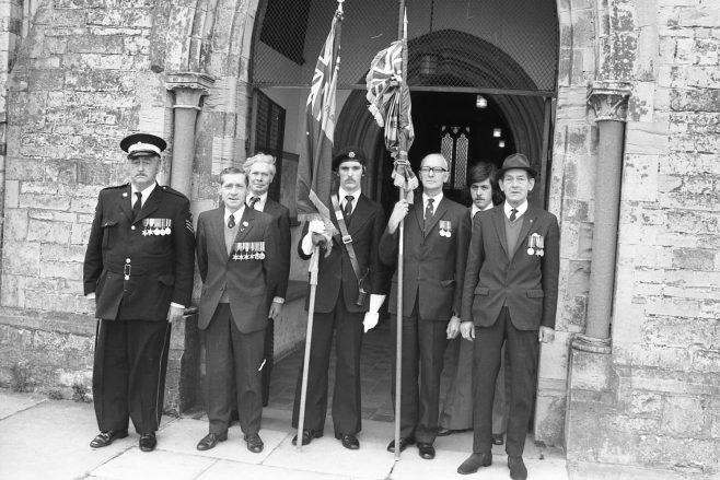 Medan Vale -Royal British Legion New Flag 1977 | CHAD G1465 031