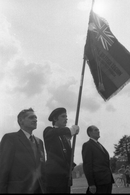 Medan Vale -Royal British Legion New Flag 1977 | G1465 033