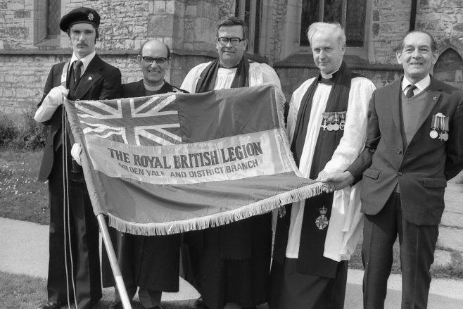 Medan Vale -Royal British Legion New Flag 1977 | G1465 037