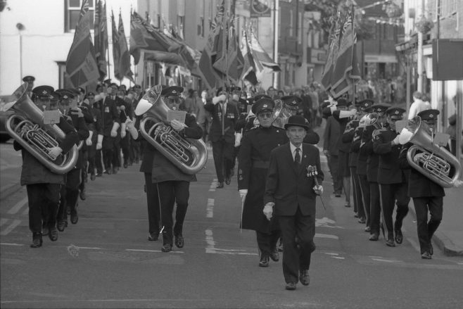 No 5 - Royal British Legion Annual Service - 1977 | CHAD G2019 -32