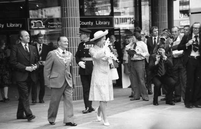 Royal Visit to Mansfield 1977 | CHAD 2440F 18