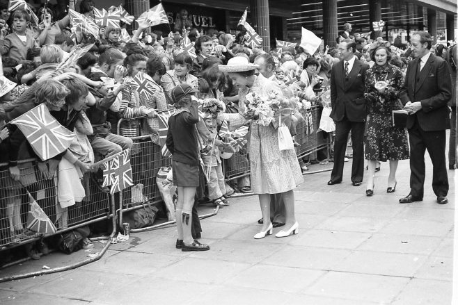 Royal Visit to Mansfield 1977 | CHAd G24401 29