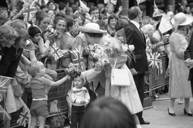 Royal Visit to Mansfield 1977 | CHAd G2440J 30
