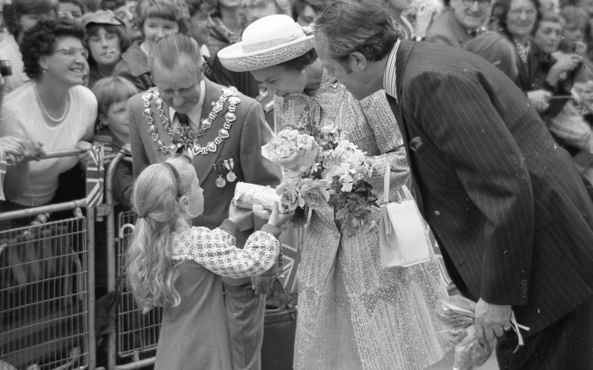 Royal Visit to Mansfield 1977 | CHAd G2400k 35