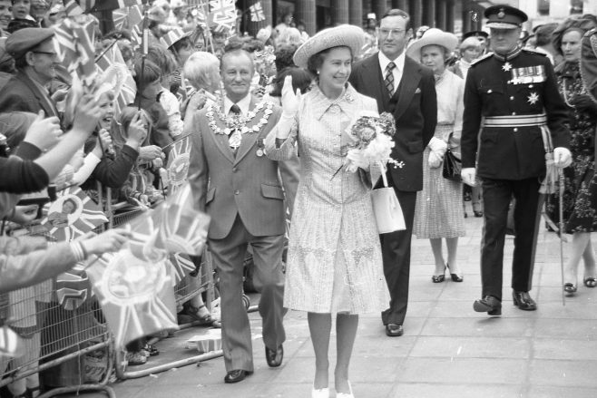 Royal Visit to Mansfield 1977 | CHAD G2440L 36