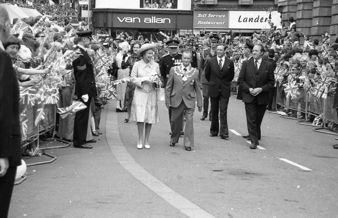 Royal Visit to Mansfield 1977 | CHAD G2441E 17