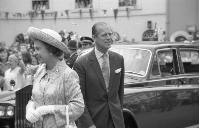 Royal Visit to Mansfield 1977 | CHAD G2441J 31