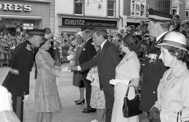 Royal Visit to Mansfield 1977 | CHAD G2441E 16