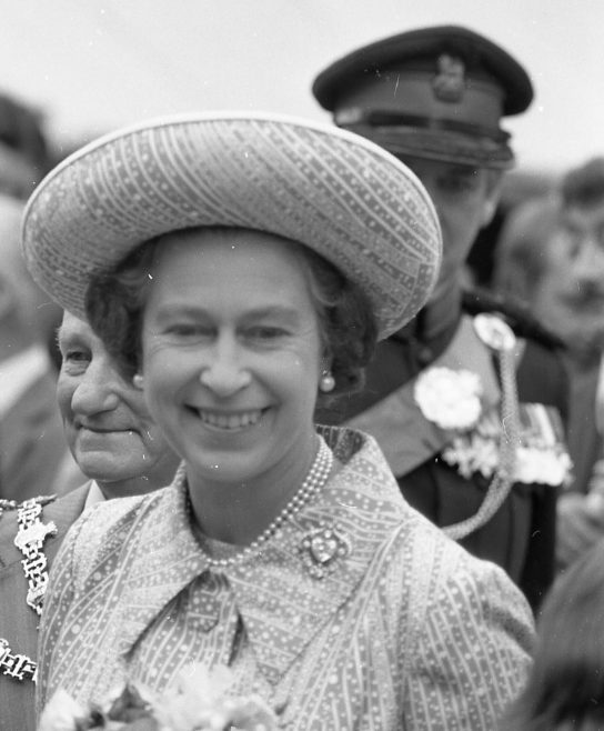 Royal Visit to Mansfield 1977