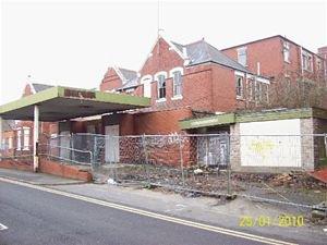 Mansfield General closed it's doors in 1992